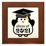 Penguin Class of 2021 Framed Tile