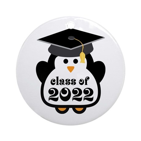 Penguin Class of 2022 Ornament (Round)