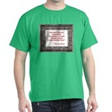 Bradbury on Books T-Shirt