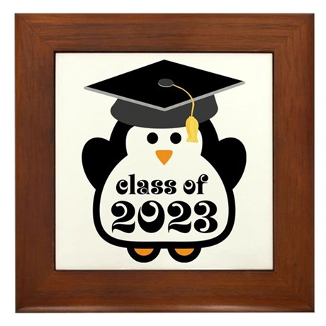 Penguin Class of 2023 Framed Tile