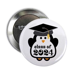 "Penguin Class of 2024 2.25"" Button"