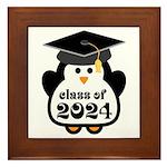 Penguin Class of 2024 Framed Tile