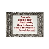 Book Collecting Rectangle Magnet (10 pack)