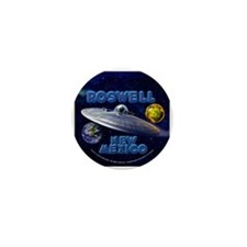 Funny Roswell Mini Button