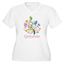 Grandma Easter Egg Tree T-Shirt