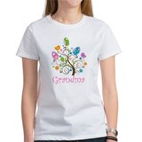 Grandma Easter Egg Tree Tee