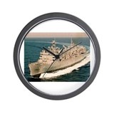 USS Arctic Ship's Image Wall Clock