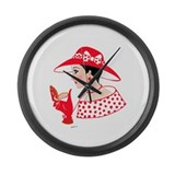 Lauren Large Wall Clock