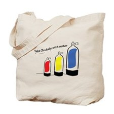 Take 3x daily Tote Bag