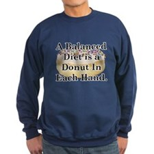 Balanced Donut Sweatshirt