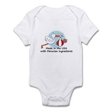 Stork Baby Peru USA Infant Bodysuit