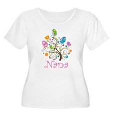 Nana Easter Egg Tree T-Shirt