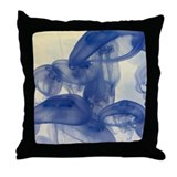 Jellyfish as Art Throw Pillow