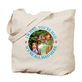 WE'RE ALL MADE HERE Tote Bag