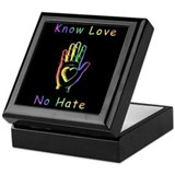 Know Love, No Hate Keepsake Box