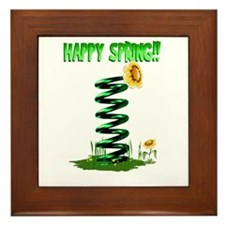 Spring!! Framed Tile