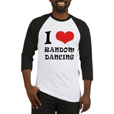 iCarly Random Dancing Baseball Jersey