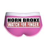 Horn Broke Women's Boy Brief