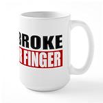 Horn Broke Large Mug