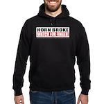 Horn Broke Hoodie (dark)