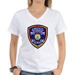 Dearborn Heights Police Women's V-Neck T-Shirt