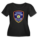 Dearborn Heights Police Women's Plus Size Scoop Ne