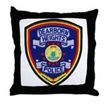 Dearborn Heights Police Throw Pillow