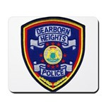 Dearborn Heights Police Mousepad