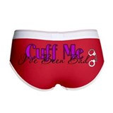 Policewife Cuff Me Women's Boy Brief