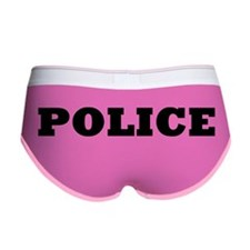 Funny Policewives Women's Boy Brief