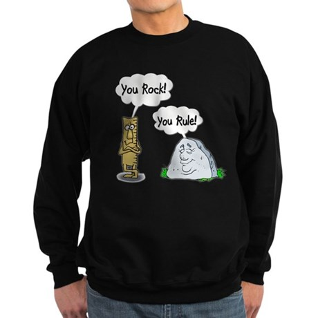 You Rock, You Rule Sweatshirt (dark)