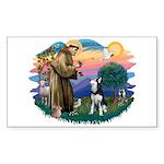 St Francis #2/ Siberian H #1 Sticker (Rectangle 10