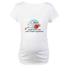 Stork Baby Turkey USA Shirt
