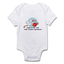 Stork Baby Turkey USA Infant Bodysuit