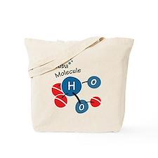 Scuba molecule Tote Bag