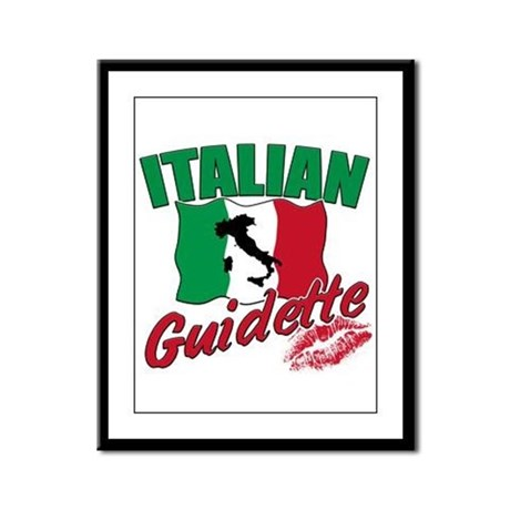 italian pride Framed Panel Print