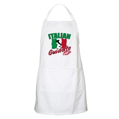 italian pride BBQ Apron