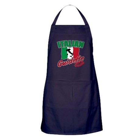 italian pride Apron (dark)