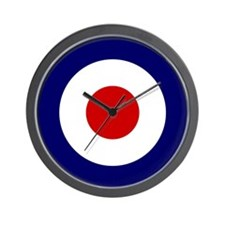 Cute Raf roundel Wall Clock