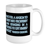 Sir Winston Churchill on Taxa Mug