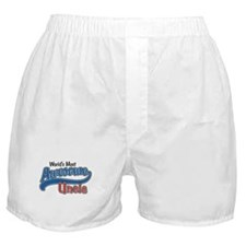 World's Most Awesome Uncle Boxer Shorts