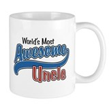 World's Most Awesome Uncle Small Mug