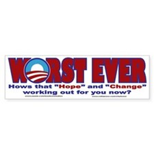 Political Bumper Stickers Bumper Sticker