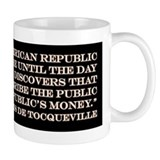 DeTocqueville on the American Republic Small Mugs