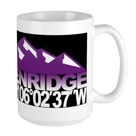 Breckenridge Colorado Large Mug