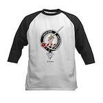 Gunn Clan Crest Badge Kids Baseball Jersey