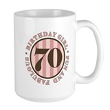 Fun & Fabulous 70th Birthday Mug