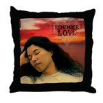 Renoly 'Remember Love' Throw Pillow