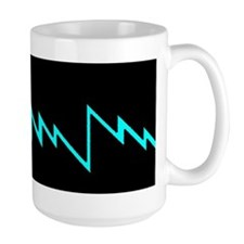 Large Lighting Bolt Mug