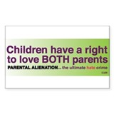 Children have a right.... Small STICKER